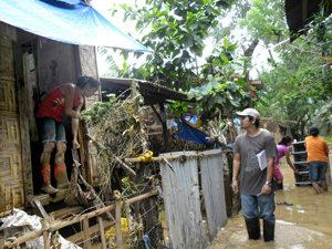 Caritas responde en Filipinas a un fuerte tifón