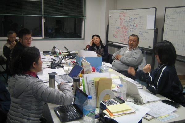 Volunteering for Caritas Japan