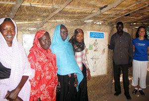Problemas en el campamento de Bilel por la escasez de higiene y saneamiento