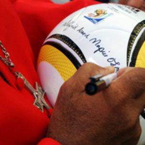 Coup d'envoi pour la coupe de la paix en Afrique du Sud