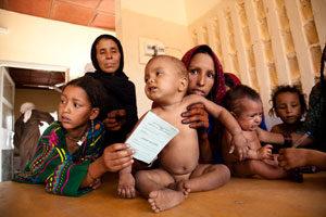 Journée mondiale de l'alimentation: Une personne sur six souffre de la faim