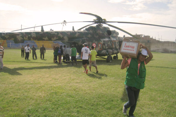 Au Pérou, les inondations continuent et le nombre de morts croît