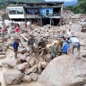 Caritas supports victims of deadly Mocoa landslide, Colombia