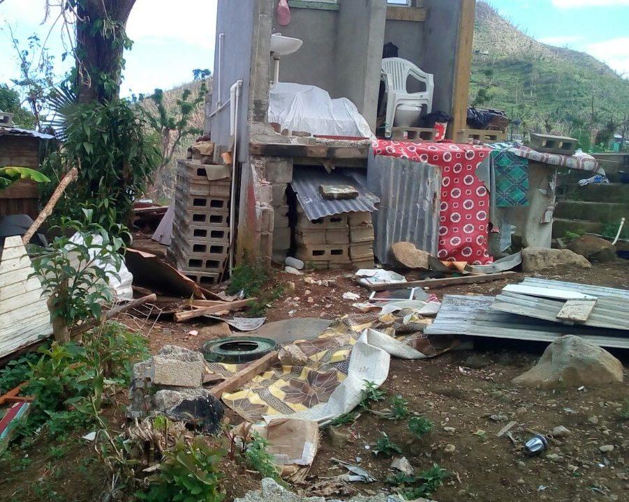 Lenta recuperación tras el huracán en Dominica