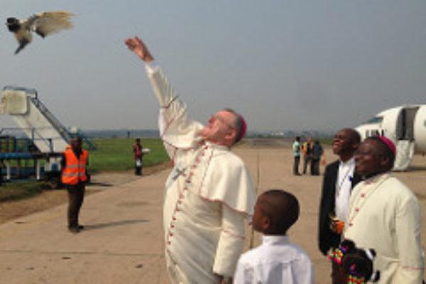 Keeping watch in Kasai in Congo