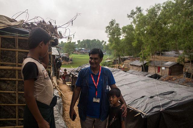 Je jour où j'ai présenté le pape François aux Rohingyas