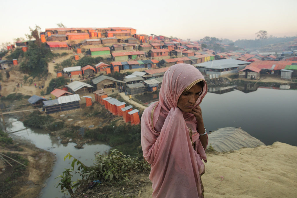 A hard year ends in a Rohingya refugee camp