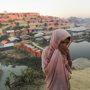 A hard year ends in a Rohingya refugee camp