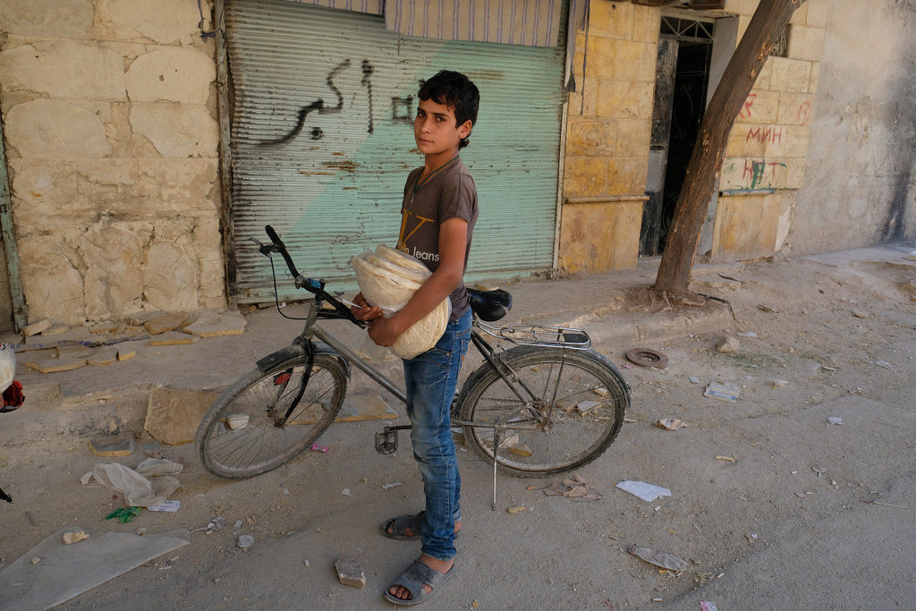 One year after battle for Aleppo