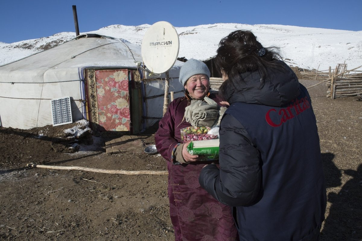 Caritas response to dzud in Mongolia