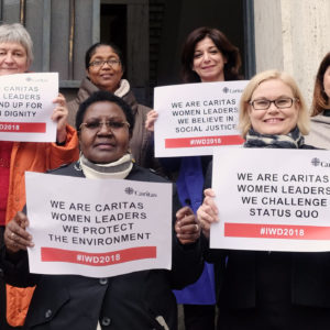 Caritas women leaders