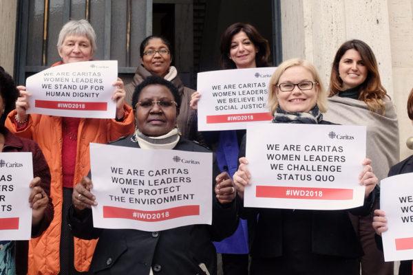 Mujeres líderes de Caritas