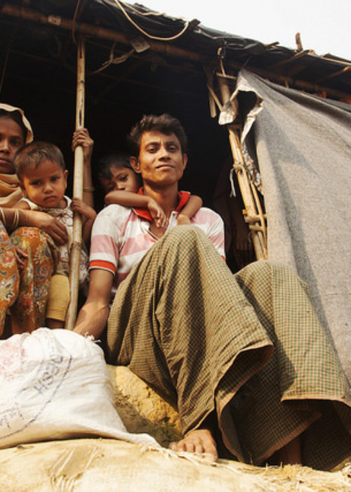 Help Rohingya refugees through the monsoon season