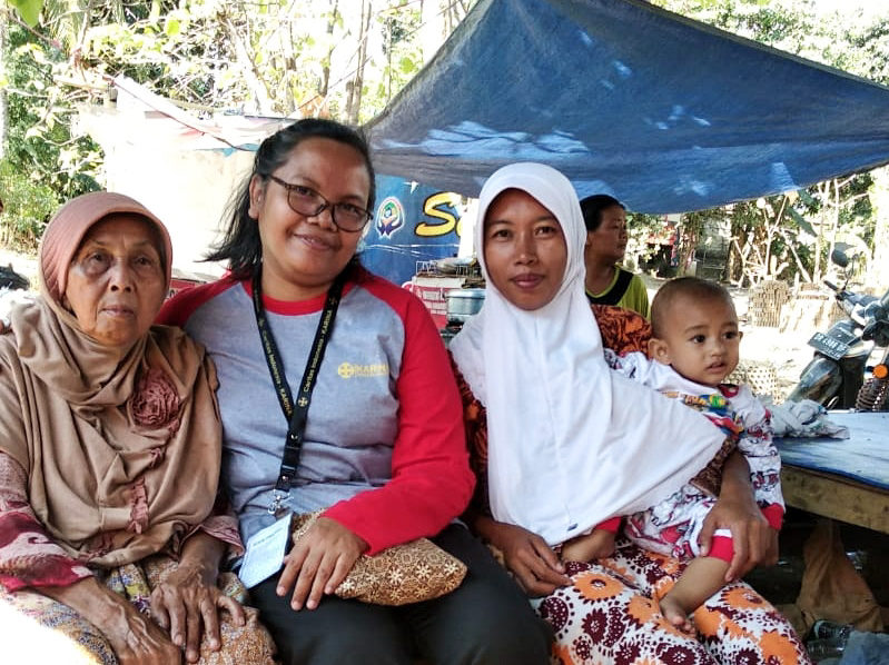 Lombok, après le séisme ayant frappé l'Indonésie