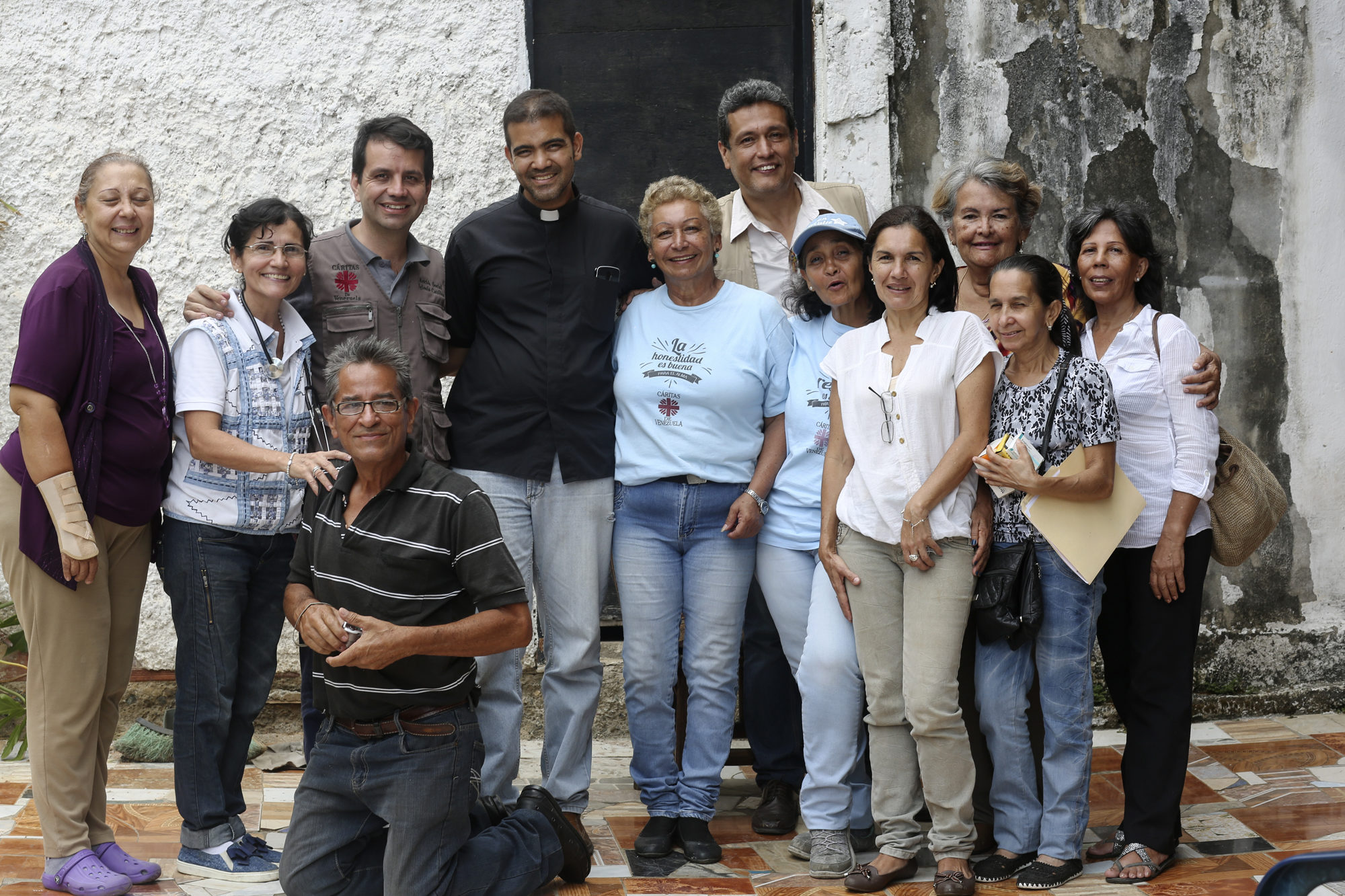 Venezuela crisis: Caritas volunteers restore health and hope