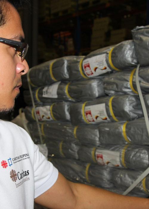 Ayude a los supervivientes del tifón en las Filipinas