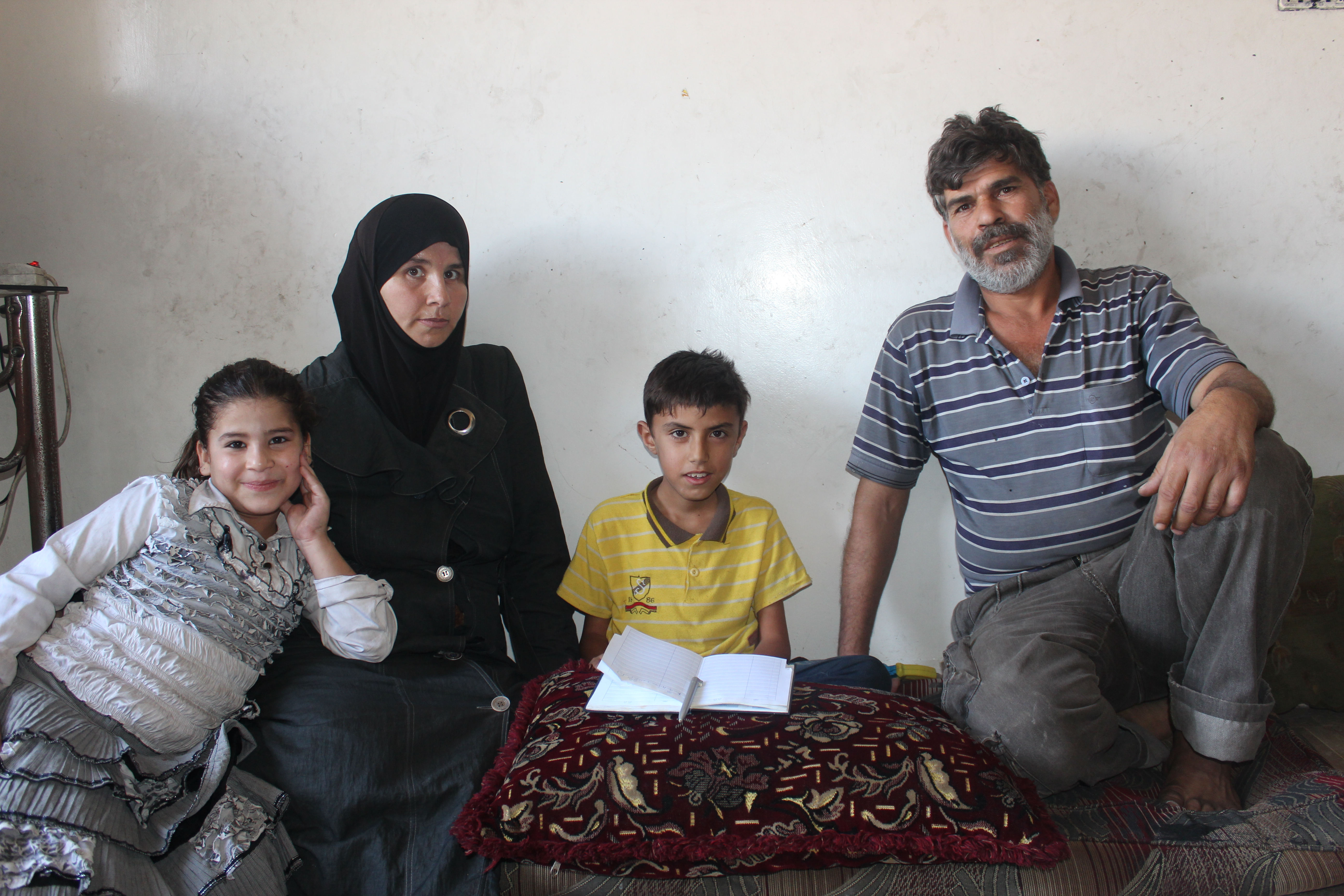 Lena's family is among Syria's 6.1 million internally displaced people.