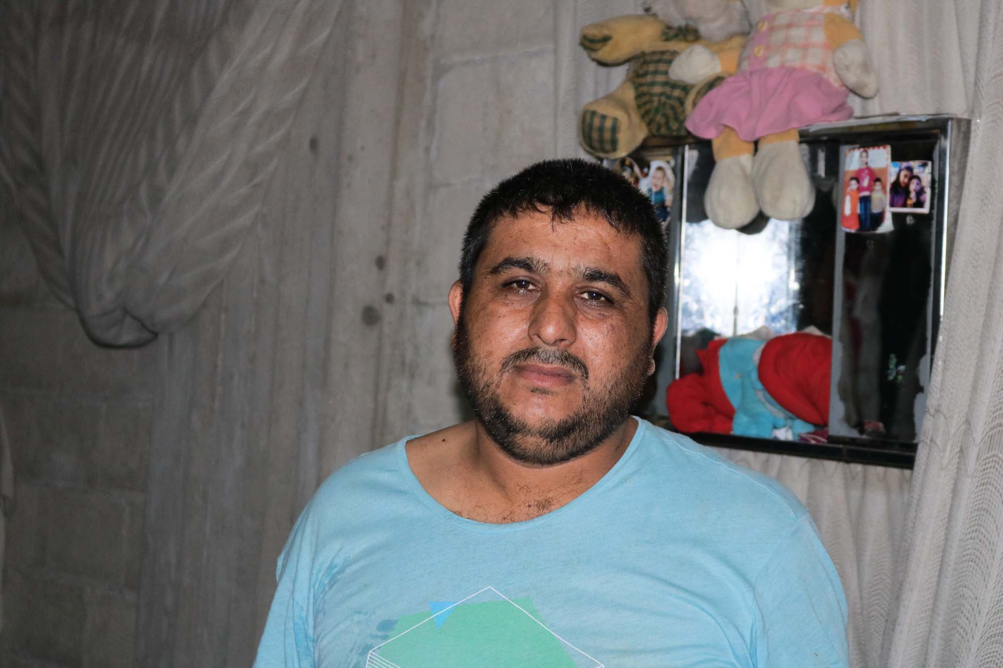 Caritas Syria helped Khalifeh after his heart attack.