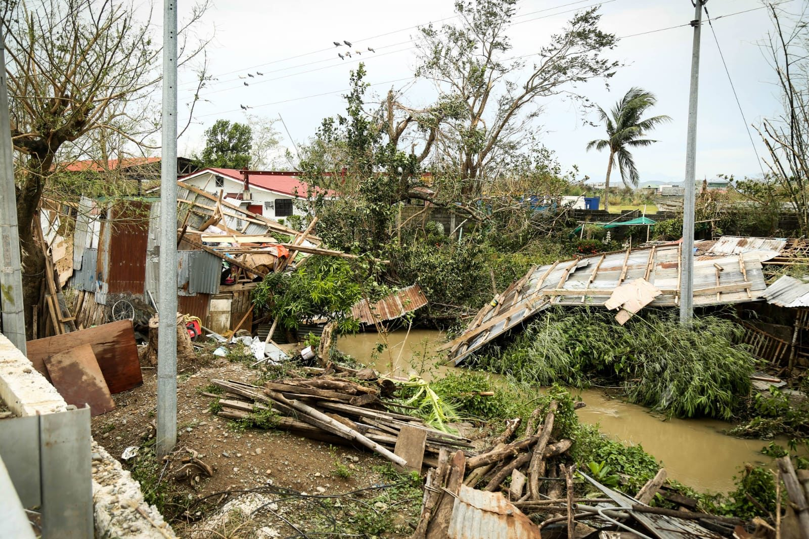 Philippines Typhoon causes major damage