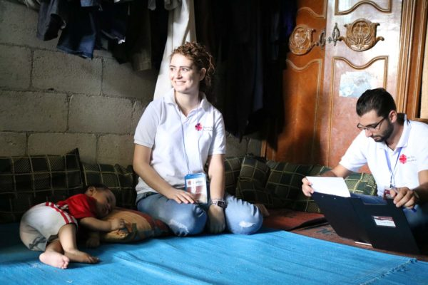 How Caritas helps in Syria