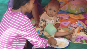 Indonesia Earthquake survivors urgently need food, water and shelter.