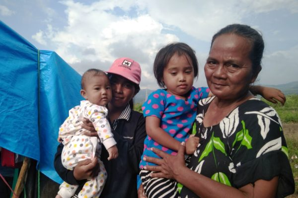 How Caritas is helping people to recover from the Indonesia earthquake