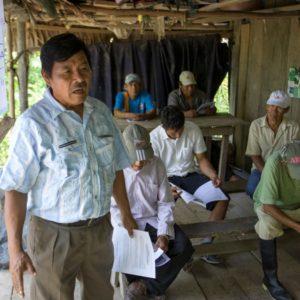 Rusbel Castornoque, elder of the Kukama people, Tarapacá, Peru, who works with REPAM