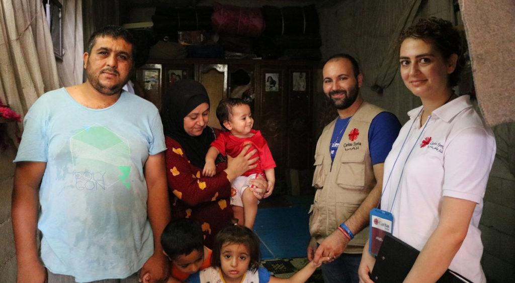Caritas inside Syria