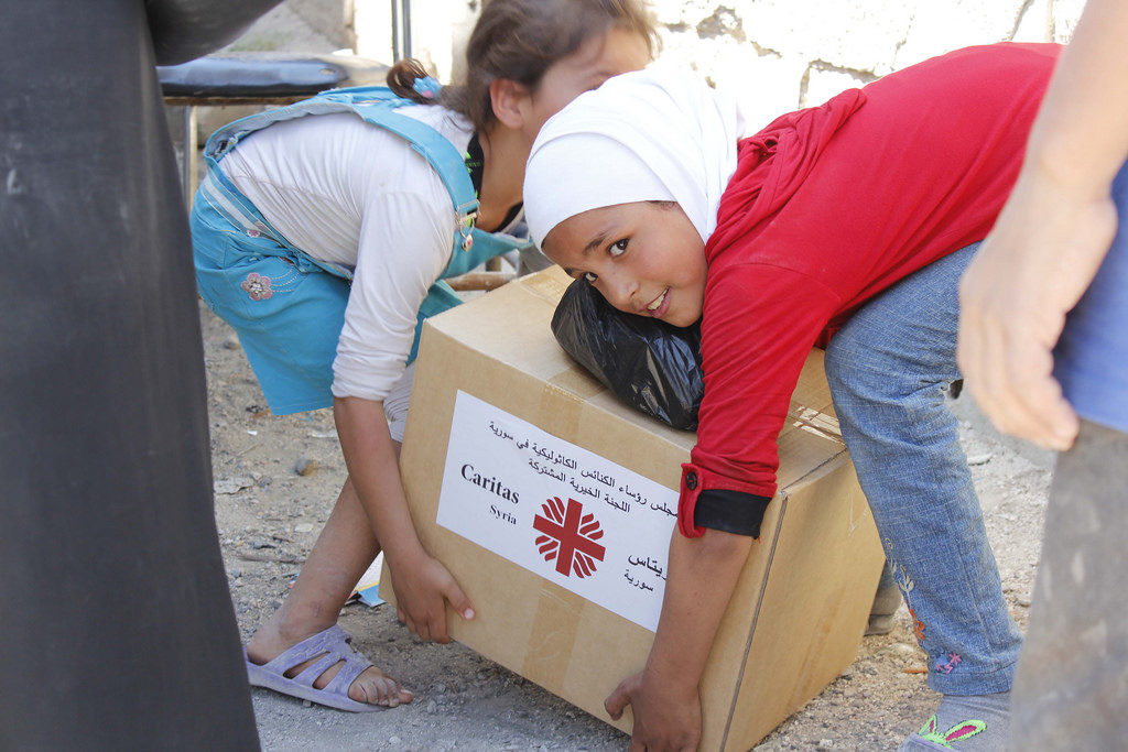 Caritas reports from inside Syria