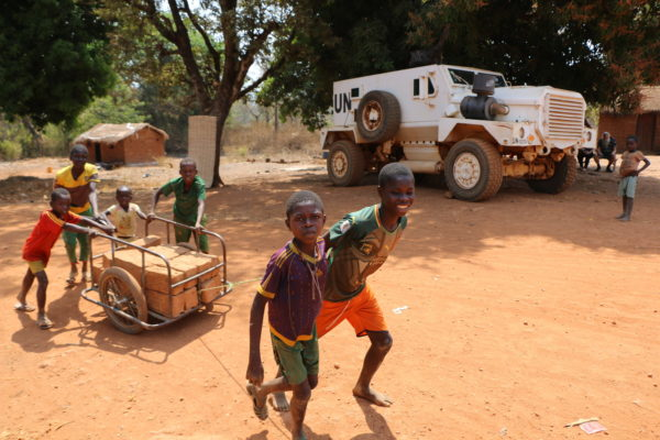 Caritas leads the way for humanitarian aid in Central African Republic