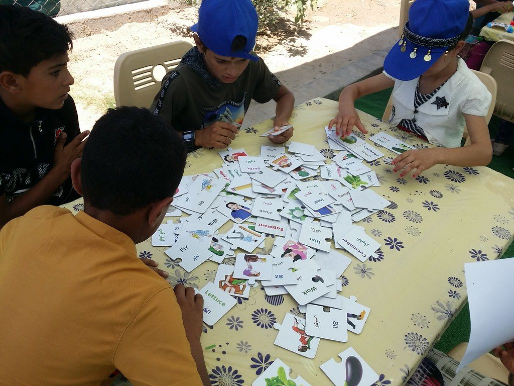 Education, health care, and psychological support in Iraq