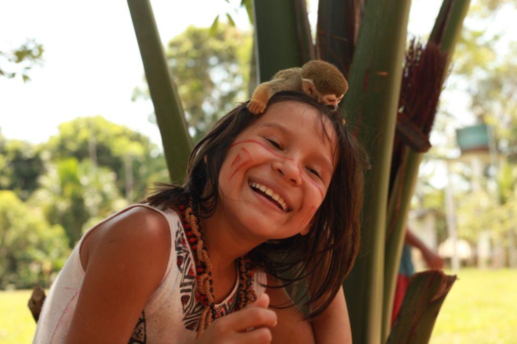 Caritas travaille pour la défense des peuples traditionnels de l'Amazonie. Photo de Marcella Haddad/Caritas.