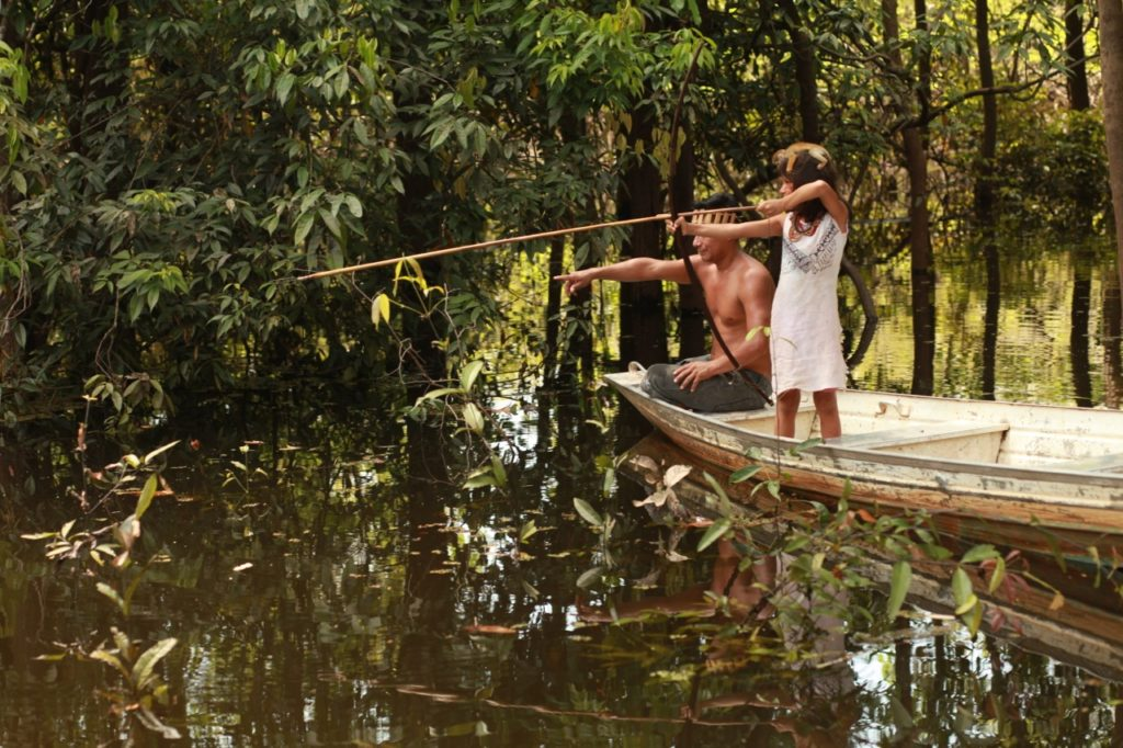 A way of life worth defending: fishing in Tururukare, in the Brazilian Amazon.