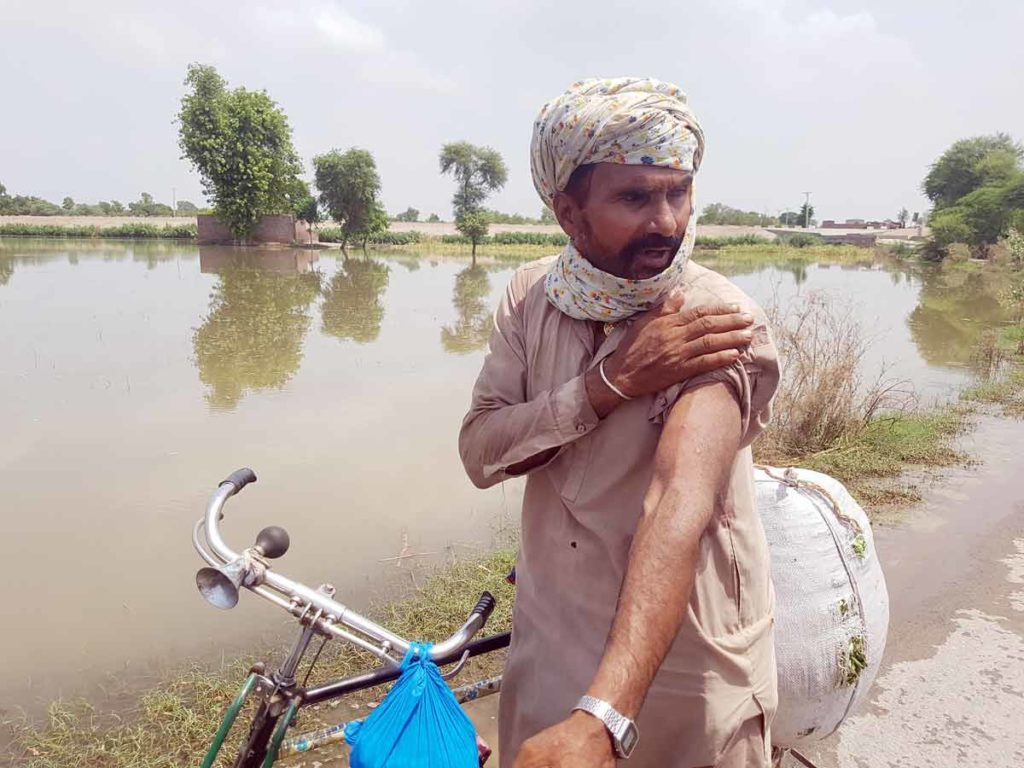 The annual monsoon season, which began in July, brought torrential rain and urban flooding across Pakistan.