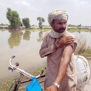 Caritas fighting floods in Pakistan