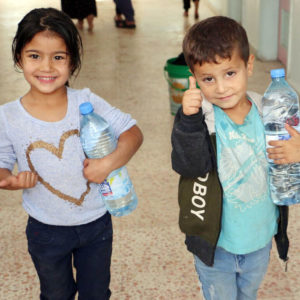 Caritas provides twenty water tanks in Al-Hasakah