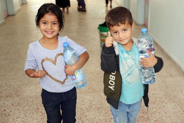 Caritas provides twenty water tanks in Al-Hasakah