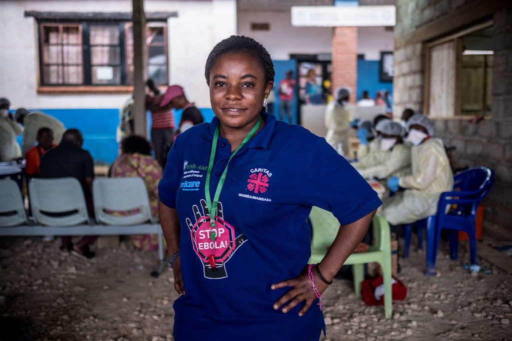 Catherine, a 26 year old Caritas social worker