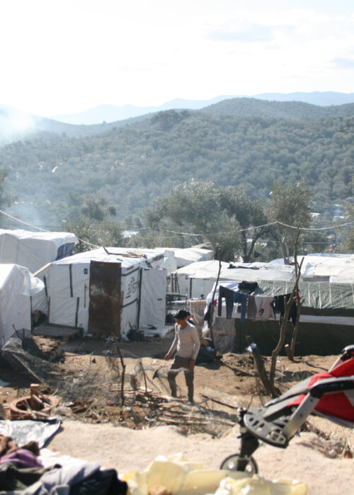 Help the refugees of Moria camp, on Lesvos