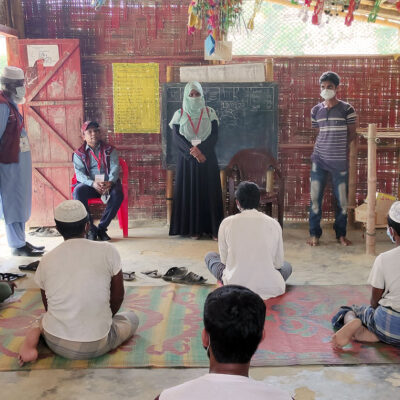 Preventing the spread of COVID-19 in Rohingya camps