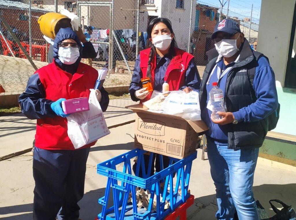 Pastoral Social Caritas Bolivia visited the Chonchocoro Prison