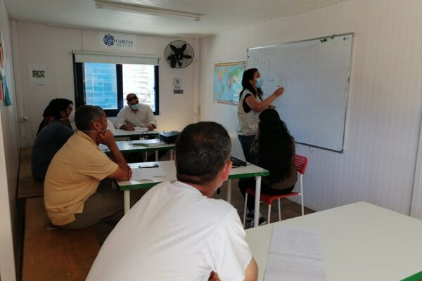 Caritas in Greece protects the rights of migrants and refugees facing COVID-19