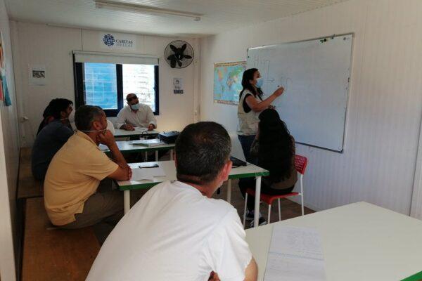 Caritas defiende en Grecia los derechos de inmigrantes y refugiados que se enfrentan a la COVID-19