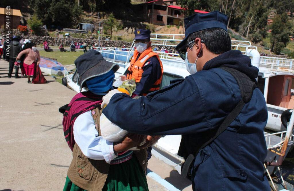 Caritas Peru response to COVID-19.