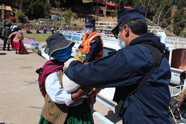 COVID-19 in Peru: solidarity and a sign of hope