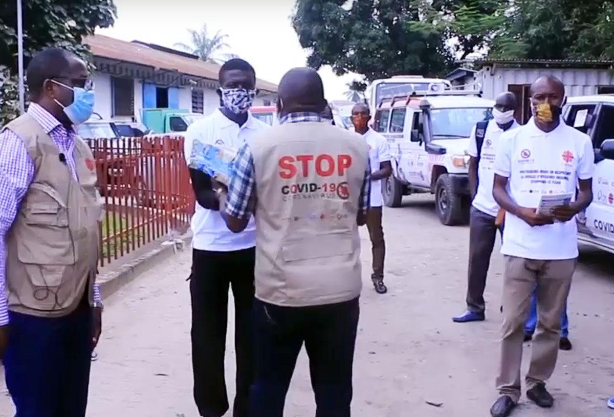 República Democrática del Congo: las lecciones aprendidas con los brotes del ébola ayudan a empoderar a las comunidades mediante la sensibilización sobre la COVID-19