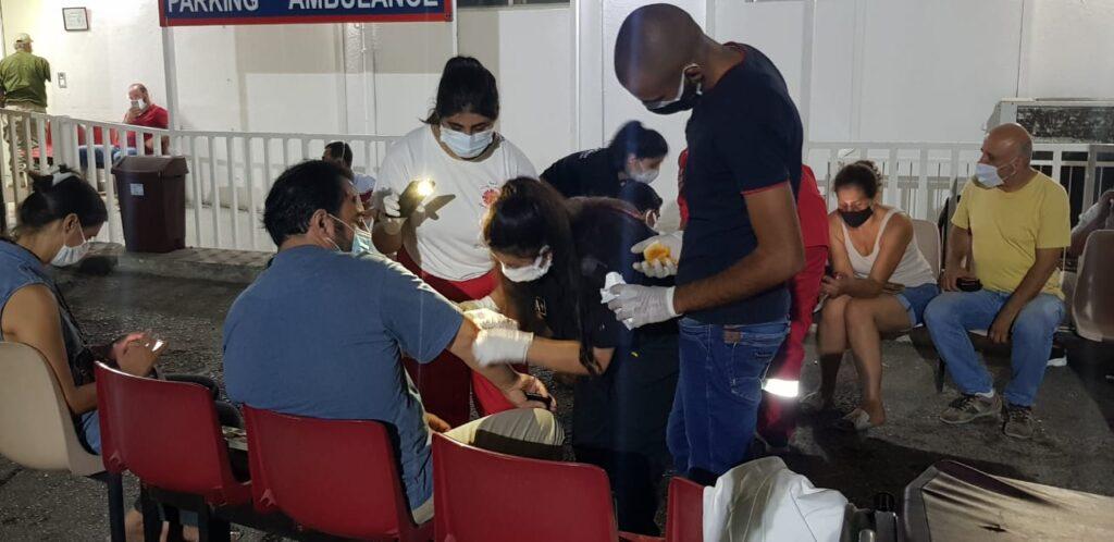 World Humanitarian Day - Caritas Lebanon gives first aid