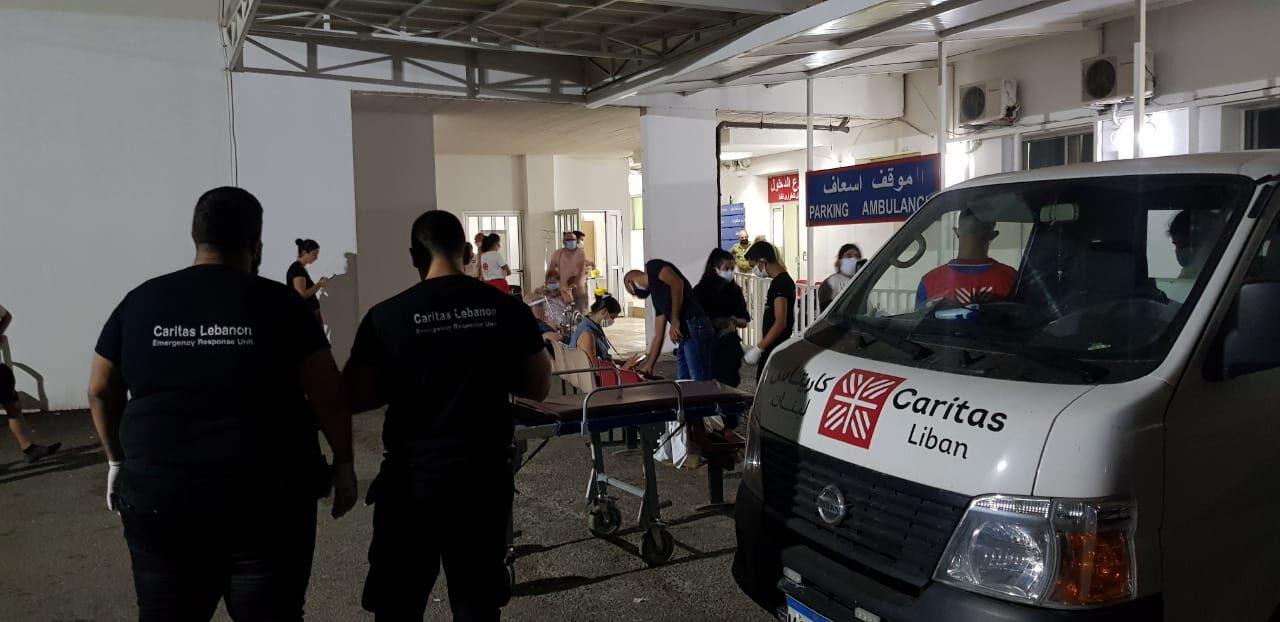 Explosions à Beyrouth: Caritas Internationalis lance un plan d'urgence pour aider immédiatement les victimes