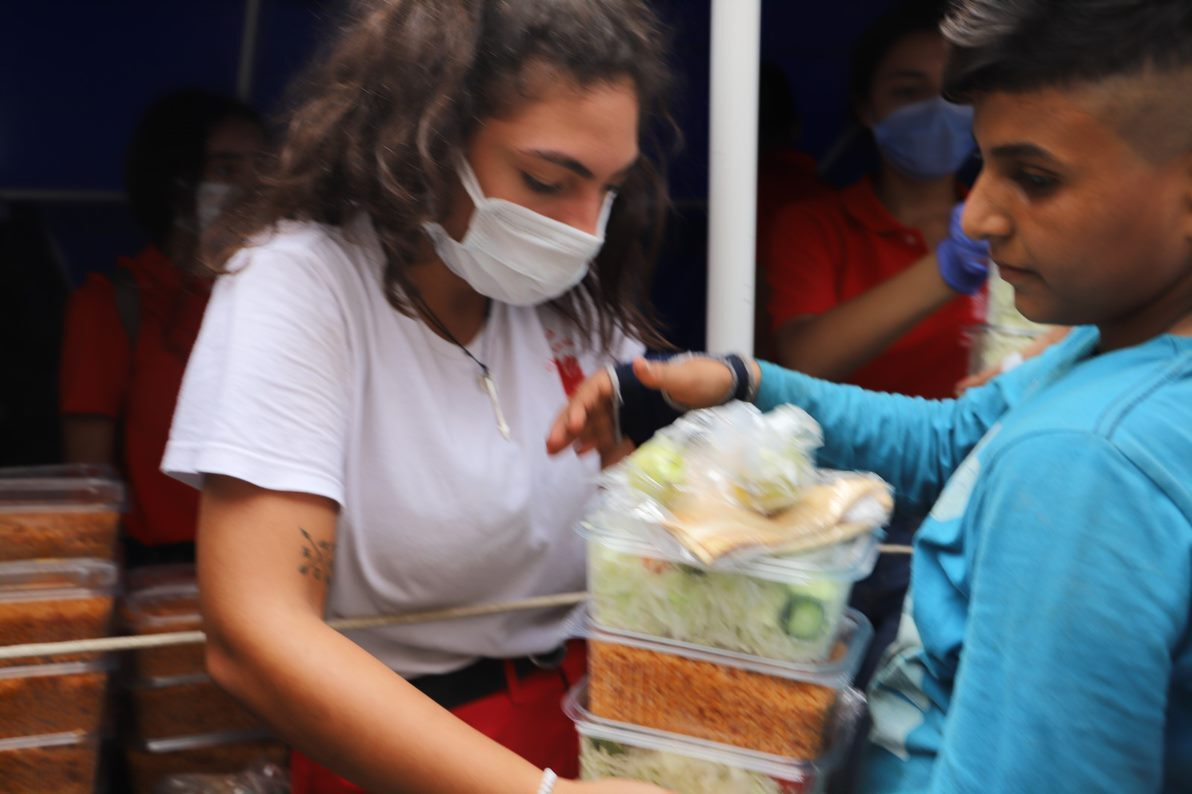 Caritas Lebanon youth help serve communities following Beirut blasts