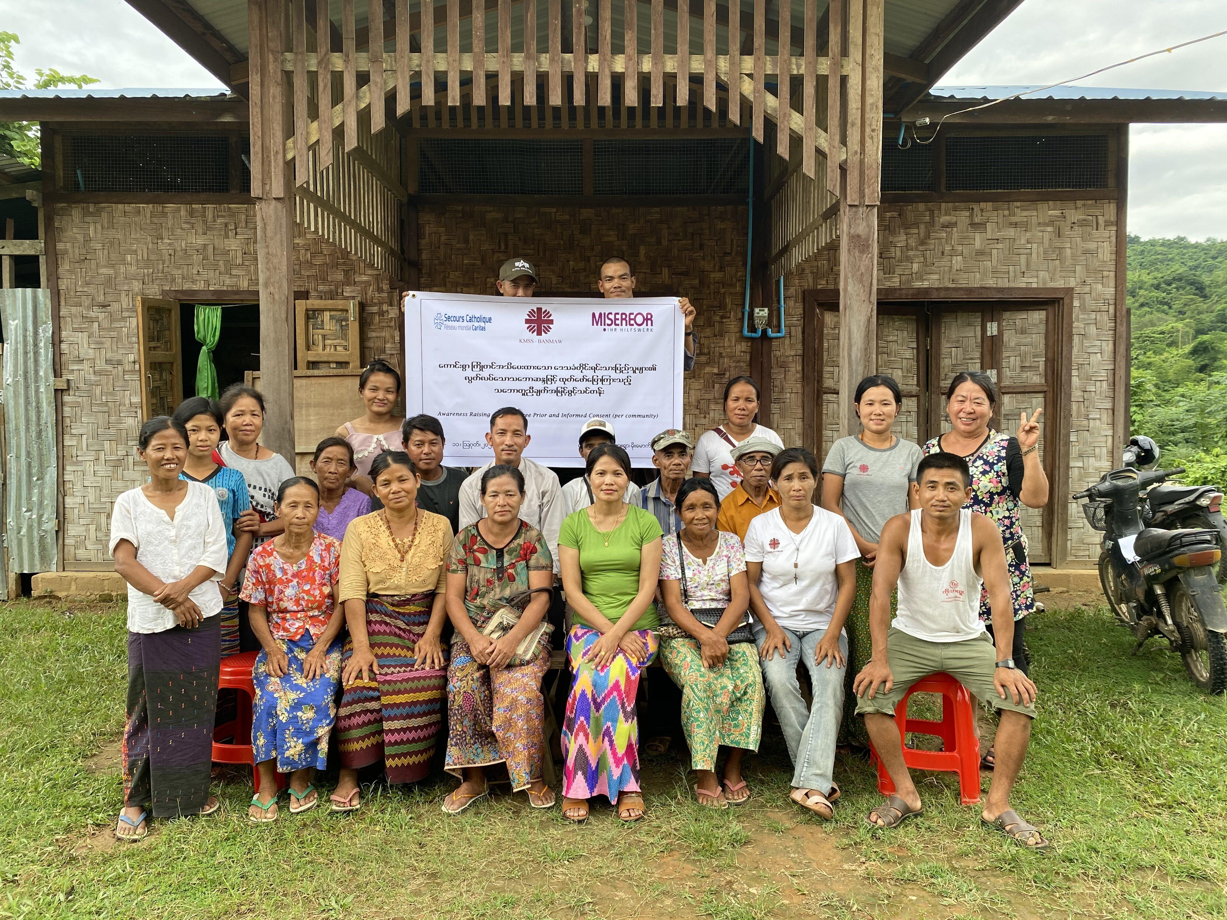 Myanmar: Caritas ayuda a los desplazados por el conflicto a reintegrarse en una nueva vida
